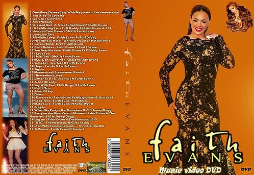 Faith Evans Music Video DVD
