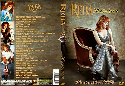 Reba McEntire Music Video DVD