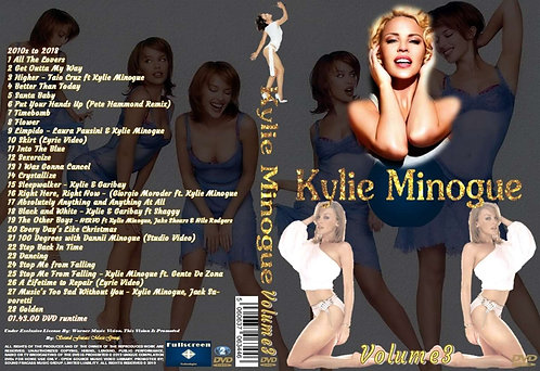 Kylie Minogue Music Video DVD – Volume3