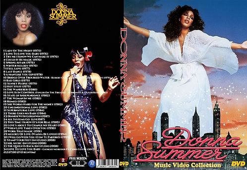 Donna Summer Music Video Collection DVD