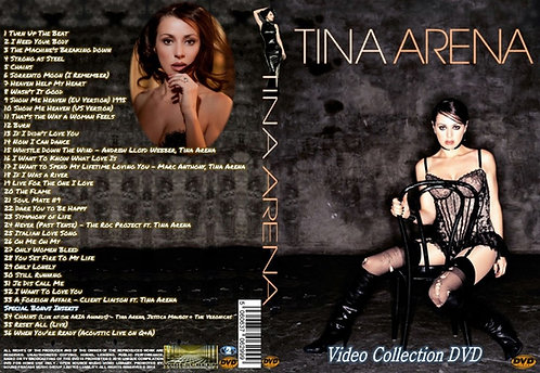 Tina Arena Music Video DVD – Essential Collector's compilation