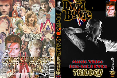 David Bowie Music Video Trilogy 3 DVDs Ultimate Collector's Edition