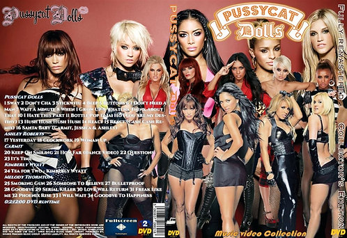 Pussycat Dolls Music Video Collection DVD – Remastered Edition