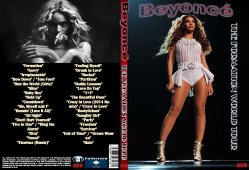 Beyonce The Formation World Tour DVD