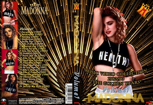 Madonna Music Video DVD – Volume1