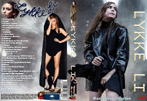 Lykke Li Music Video DVD