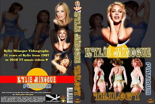 "Kylie Minogue Music Video DVD Trilogy ""Complete Collection"" Platinum Edition"