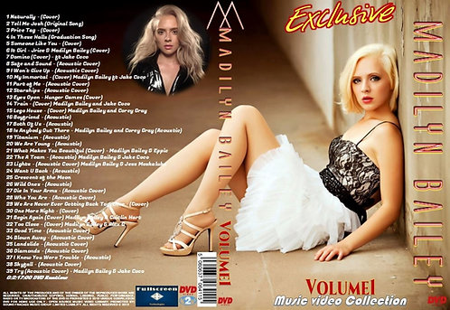 Madilyn Bailey Music Video DVD Volume1