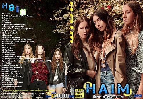 Haim Music Video Collection DVD