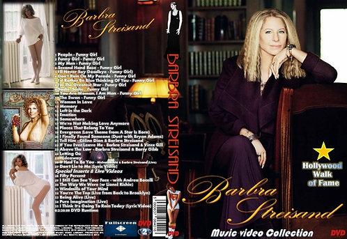 Barbra Streisand Music Video DVD