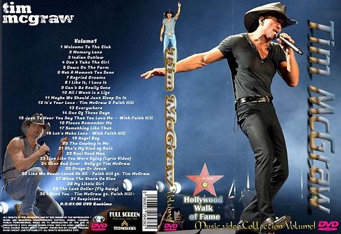 Tim McGraw Music Video DVD Volume1