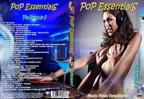 Pop Essentials Music Video Compilation DVD Volume1