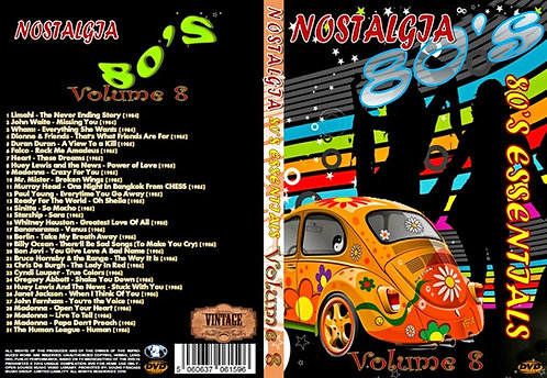 Nostalgia V8 80s Essentials Music Video DVD