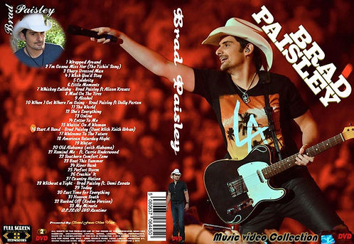 Brad Paisley Music Video Collection DVD