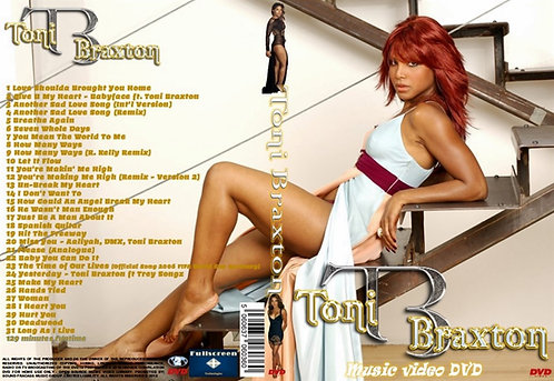 Toni Braxton Music Video DVD
