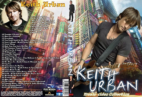 Keith Urban Music Video Collection DVD