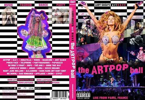 Lady Gaga ArtRave: The ArtPop Ball Tour DVD