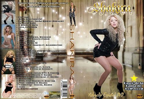 Shakira Musica Video DVD