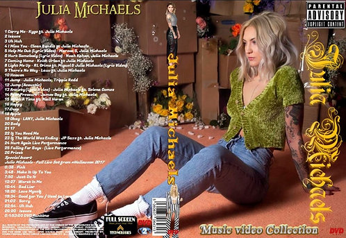 Julia Michaels Music Video Collection DVD