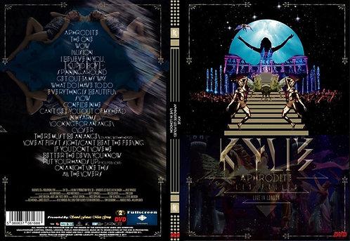 Kylie Minogue Aphrodite Les Folies Tour DVD