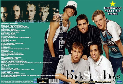 Backstreet Boys Music Video DVD