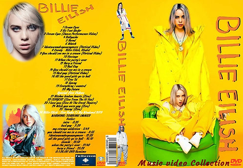 Billie Eilish Music Video DVD