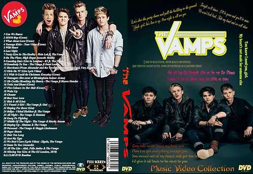 The Vamps Music Video DVD