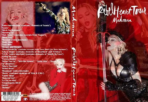Madonna Rebel Heart World Tour DVD 2015