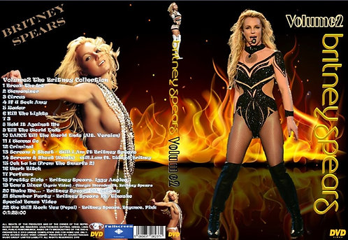Britney Spears Music Video DVD – Volume2