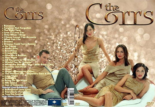The Corrs Music Video DVD