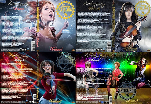 Lindsey Stirling Music Video 4 DVDs Complete Collection