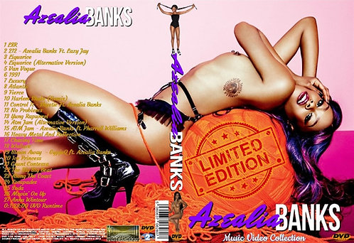 "Azealia Banks Video Collection DVD ""Limited Edition"""