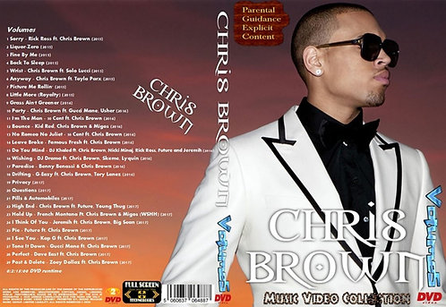 Chris Brown music Video Compilation Vol.5