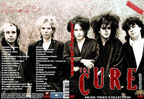 The Cure Music Video DVD Collector's Edition