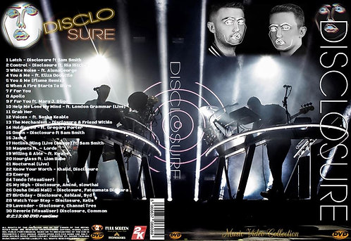 Disclosure Music Video Collection DVD