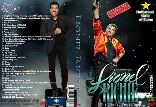 Lionel Richie Music Video DVD ~ Collector's Edition