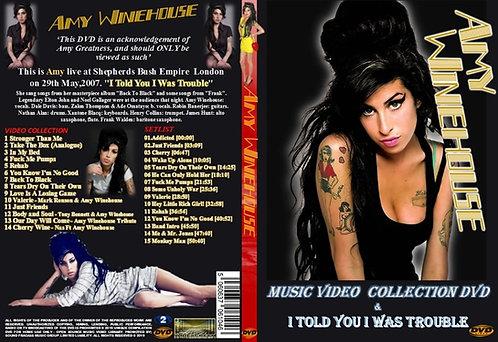 Amy Winehouse Music Video DVD