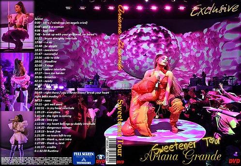 Ariana Grande Sweetener Tour DVD