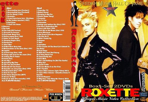 Roxette Music Video Box-Set 2 DVDs