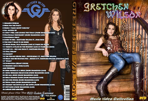 Gretchen Wilson Music Video Collection DVD