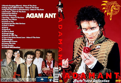 Adam Ant Music Video DVD