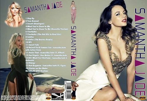 Samantha Jade Music Video DVD – Essential Collector's compilation