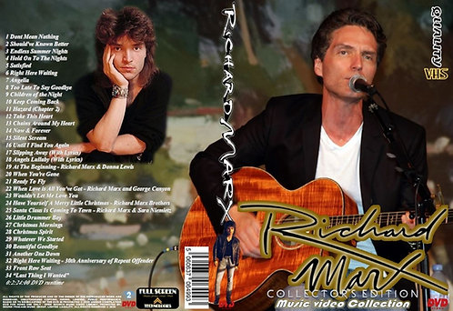 Richard Marx Music Video DVD - Collector's Edition