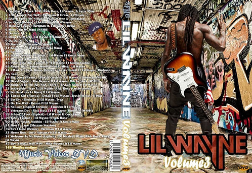 Lil Wayne Music Video Collection DVD Volume3