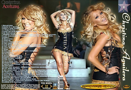 Christina Aguilera Music Video collection DVD Fully Remastered