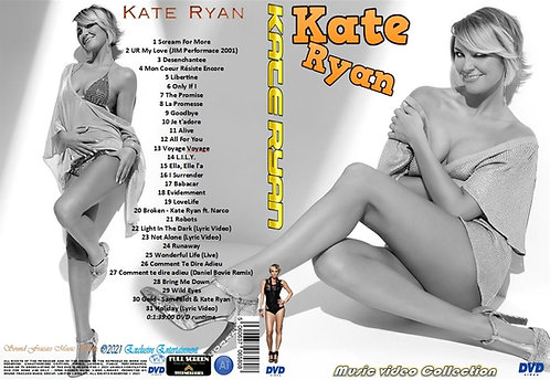 Kate Ryan Music Video Collection DVD