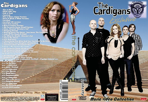 The Cardigans Music Video DVD