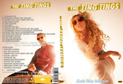 The Ting Tings Music Video DVD