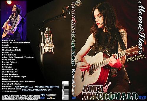Amy Macdonald - Moon&Stars Festival 2017 DVD