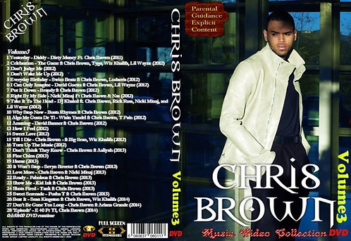 Chris Brown music Video Compilation Vol.3